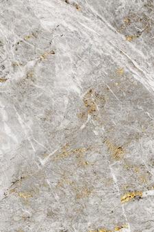 Plano de fundo texturizado de mármore cinza e dourado