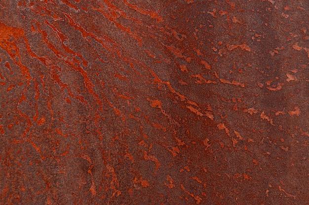 Plano de fundo texturizado de óxido de aço