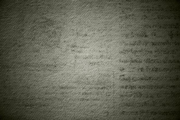 Plano de fundo texturizado de página impressa em bege grunge
