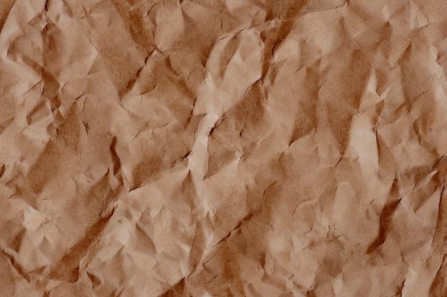 Plano de fundo texturizado de papel amassado vintage