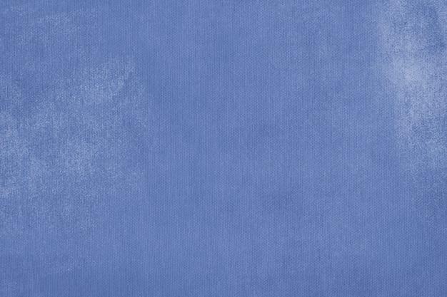 Plano de fundo texturizado de parede de concreto pintado de azul