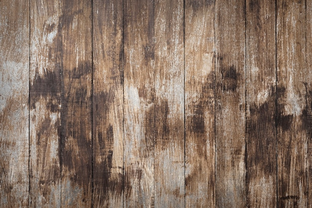 Plano de fundo texturizado de pranchas de madeira grunge