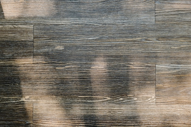 Plano de fundo texturizado de pranchas de madeira marrom
