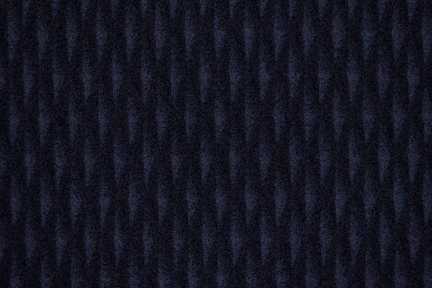 Plano de fundo texturizado de tecido com padrão azul escuro