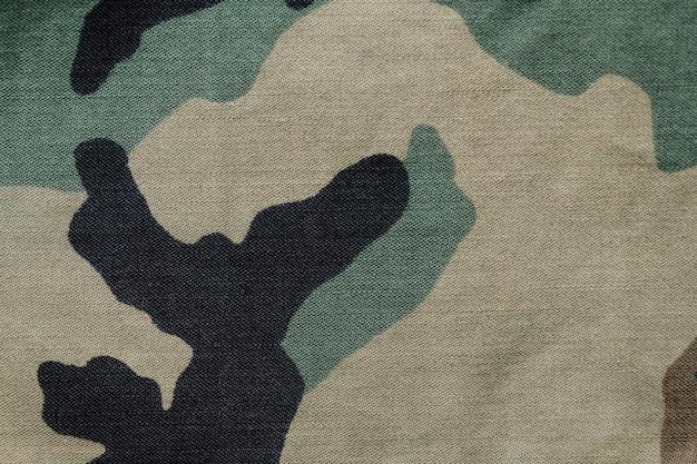 Plano de fundo texturizado de tecido de camuflagem militar