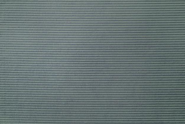 Plano de fundo texturizado de tecido de veludo cotelê cinza esverdeado