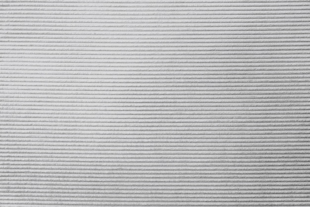 Plano de fundo texturizado de tecido de veludo cotelê cinza Foto gratuita