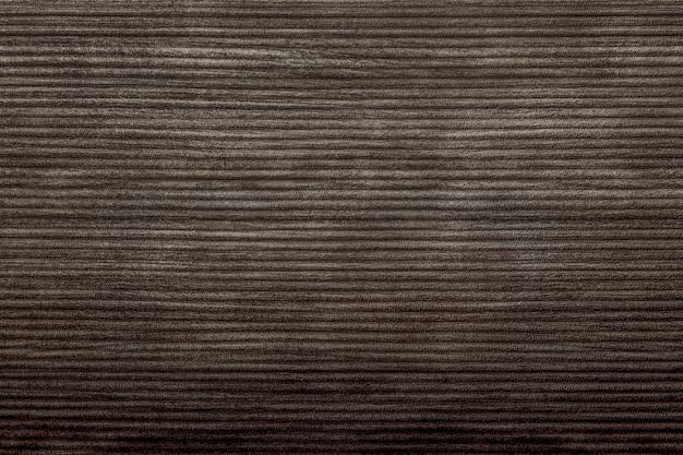 Plano de fundo texturizado de veludo cotelê marrom escuro