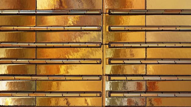Plano de fundo texturizado metálico dourado