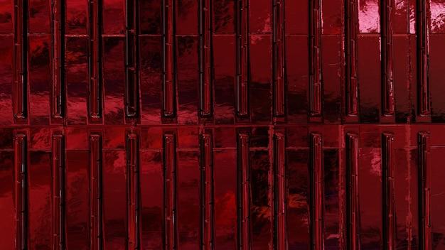 Plano de fundo texturizado vermelho metálico