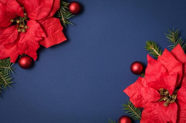 Plano de fundo transparente azul leigos com decoração de natal