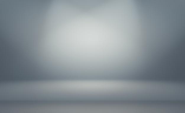 Plano de luxo abstrato desfocar fundo gradiente cinza e preto