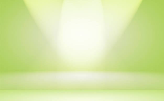 Plano de luxo verde gradiente abstrato estúdio fundo vazio sala com espaço para o seu texto e imagens.