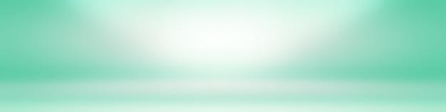 Plano de luxo verde gradiente abstrato estúdio fundo vazio sala com espaço para seu texto e imagem