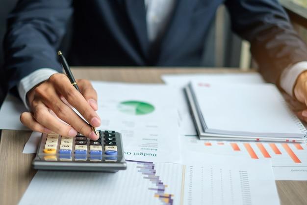 Plano de marketing de análise de empresário