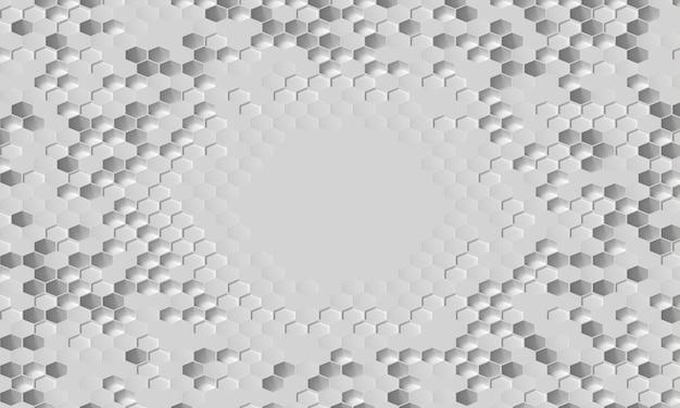 Plano geral de fundo branco 3d