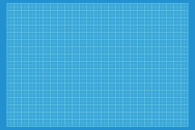 Plano gráfico de papel alinhado textura de fundo closeup extrema. renderização 3d