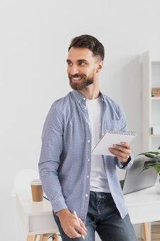 Plano médio do empresário