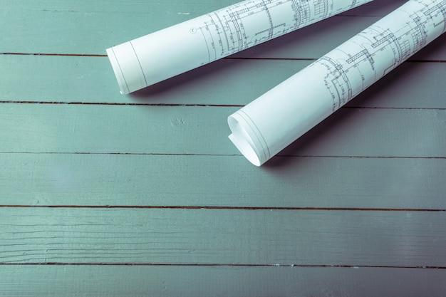 Planos arquitetônicos