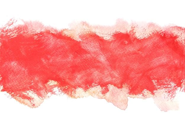 Planos de fundo vermelhos de aquarela, pintura a mão