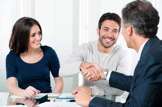 Planos financeiros bem-sucedidos