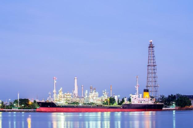 Planta de refinaria de petróleo