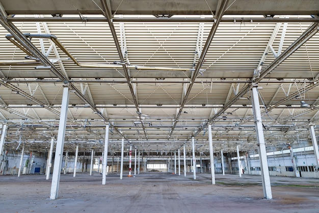 Planta industrial abandonada