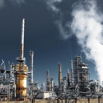 Planta para refino de óleo