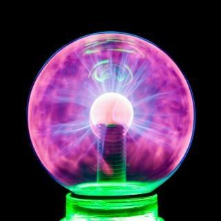 Plasma bola de plasma eletrificar