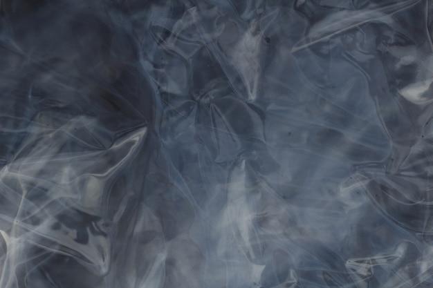 Plástico transparente dobrado que produz efeito de reflexo