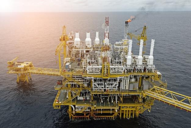 Plataforma de plataforma de gás offshore de petróleo