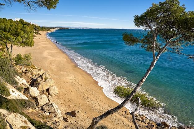 Playa de cala les vienesos praia miami-platja