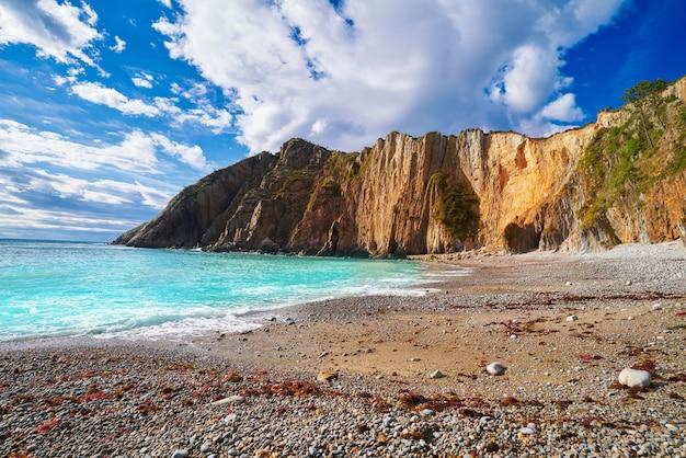 Playa del silencio em cudillero astúrias espanha