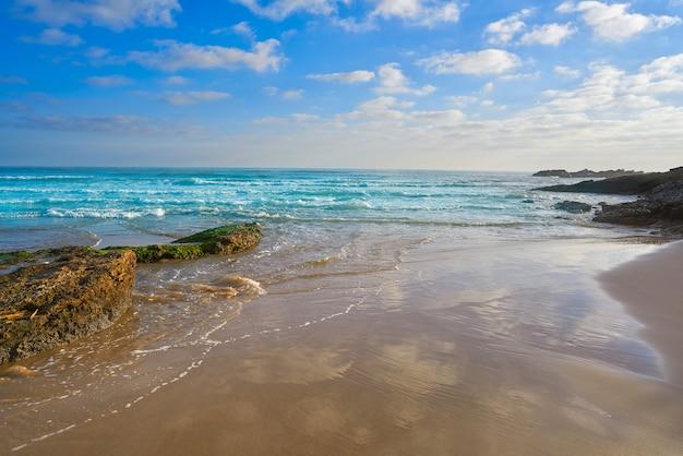 Playa morro de gos em oropesa del mar