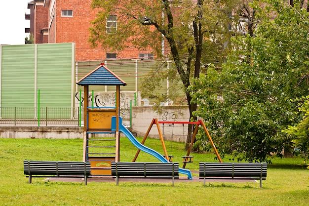 Playground vazio