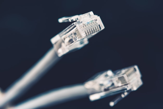 Plugues de cabo de rede