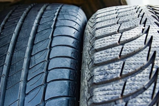 Pneus e rodas de carro para fundo de automóveis