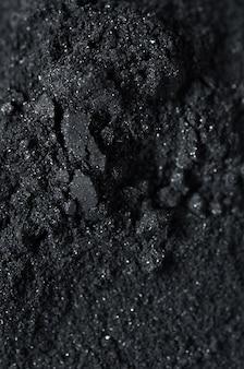 Pó de carvão ativado