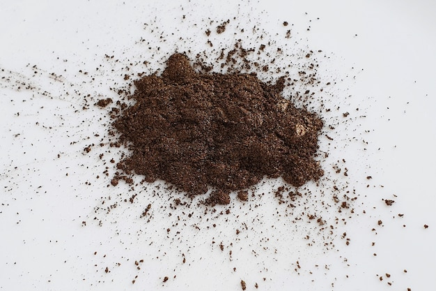 Pó de pigmento de mica marrom metálico