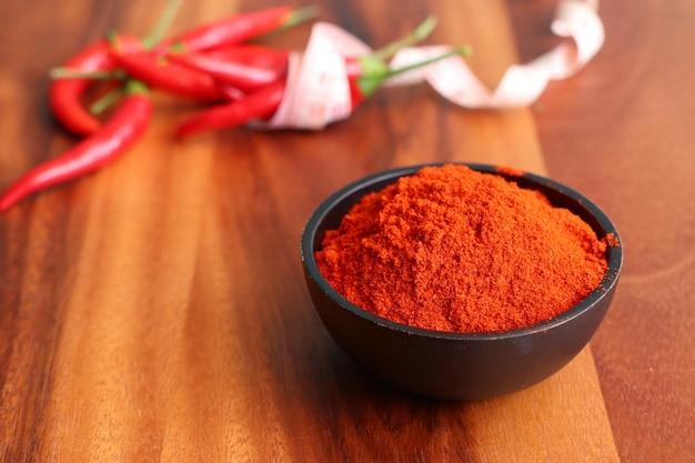 Pó de pimentão vermelho coreano
