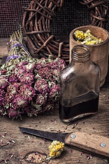 Poção elixir de ervas