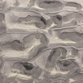 Poças de lama abstratas