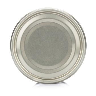Pode prata isolado no fundo branco