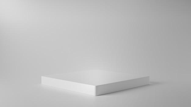 Pódio vazio para produtos