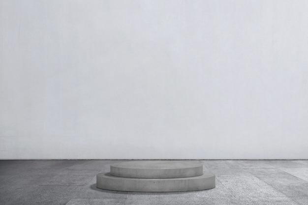 Pódio vazio