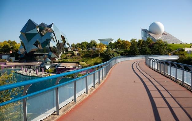 Poitiers frança 21 de setembro de 2010 futuroscope ou parc du futuroscope é um parque de diversões francês