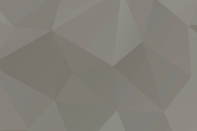 Polígono em mosaico abstrato bege surgido