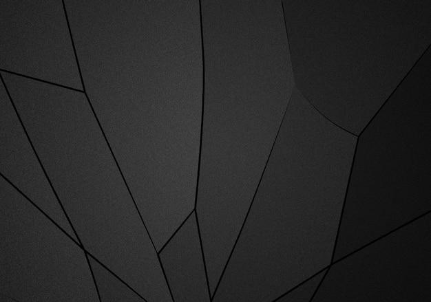 Polígonos com tons escuros de ilustração de fundo abstrato