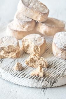 Polvoron - biscoito amanteigado espanhol