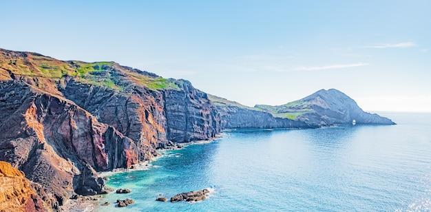 Ponta de são lourenço, costa leste da ilha da madeira, portugal